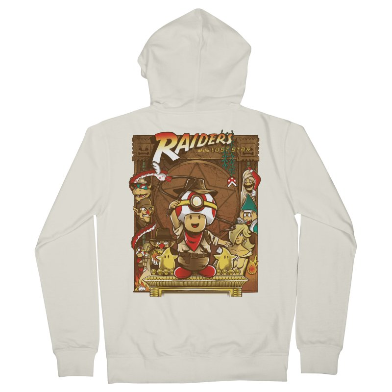 Raiders of the Lost Star Men's Zip-Up Hoody by Nikoby's Artist Shop