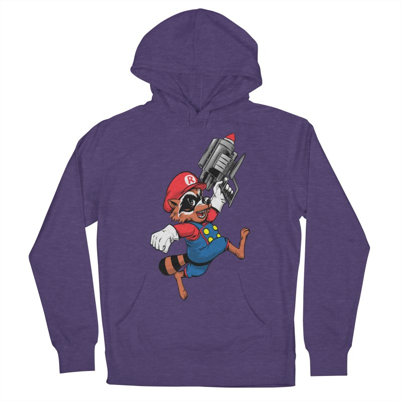 Super Raccoon Women's Pullover Hoody by Nikoby's Artist Shop