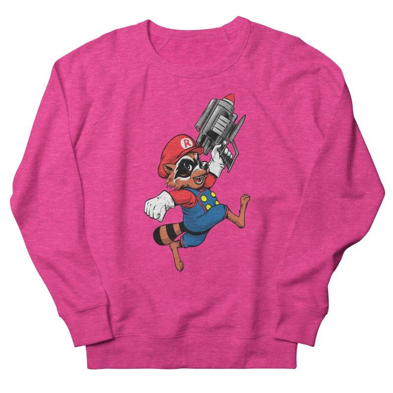 Super Raccoon Women's Sweatshirt by Nikoby's Artist Shop