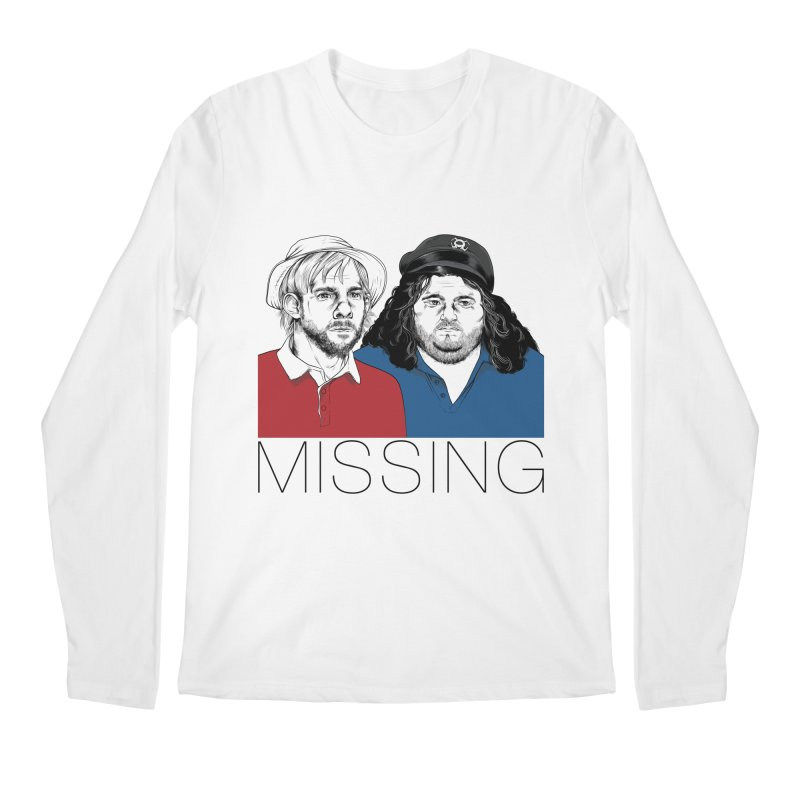 Missing Men's Longsleeve T-Shirt by Nikoby's Artist Shop