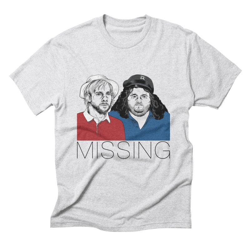 Missing Men's Triblend T-shirt by Nikoby's Artist Shop