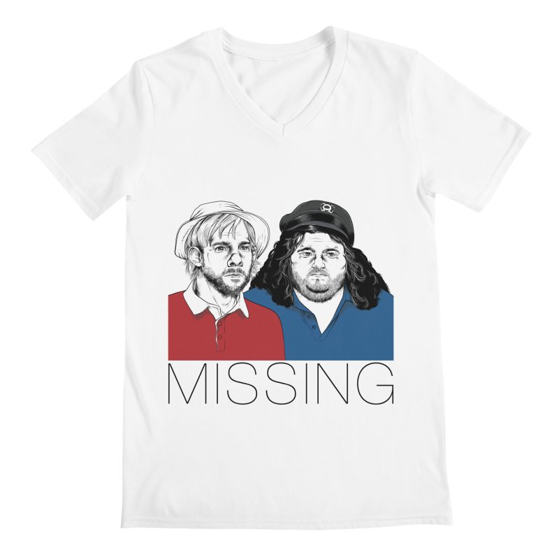 Missing Men's V-Neck by Nikoby's Artist Shop