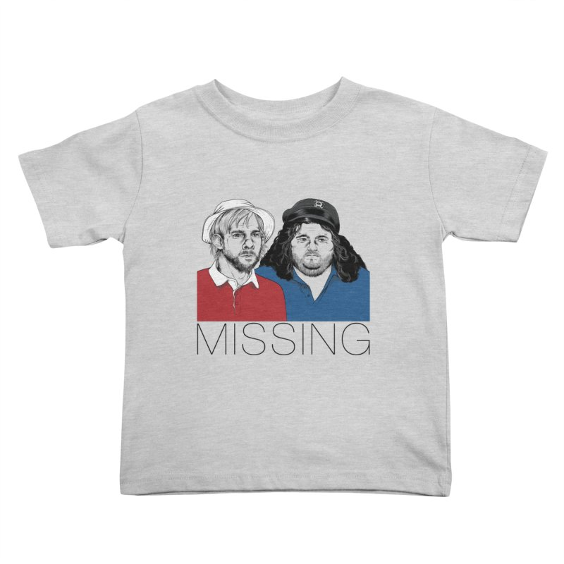 Missing Kids Toddler T-Shirt by Nikoby's Artist Shop