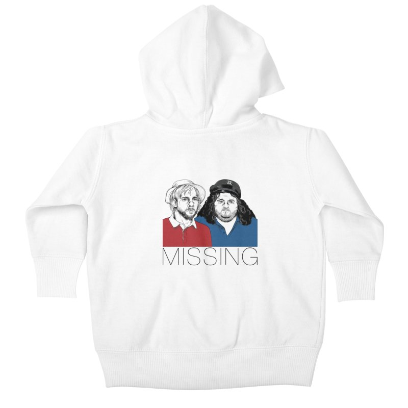 Missing Kids Baby Zip-Up Hoody by Nikoby's Artist Shop
