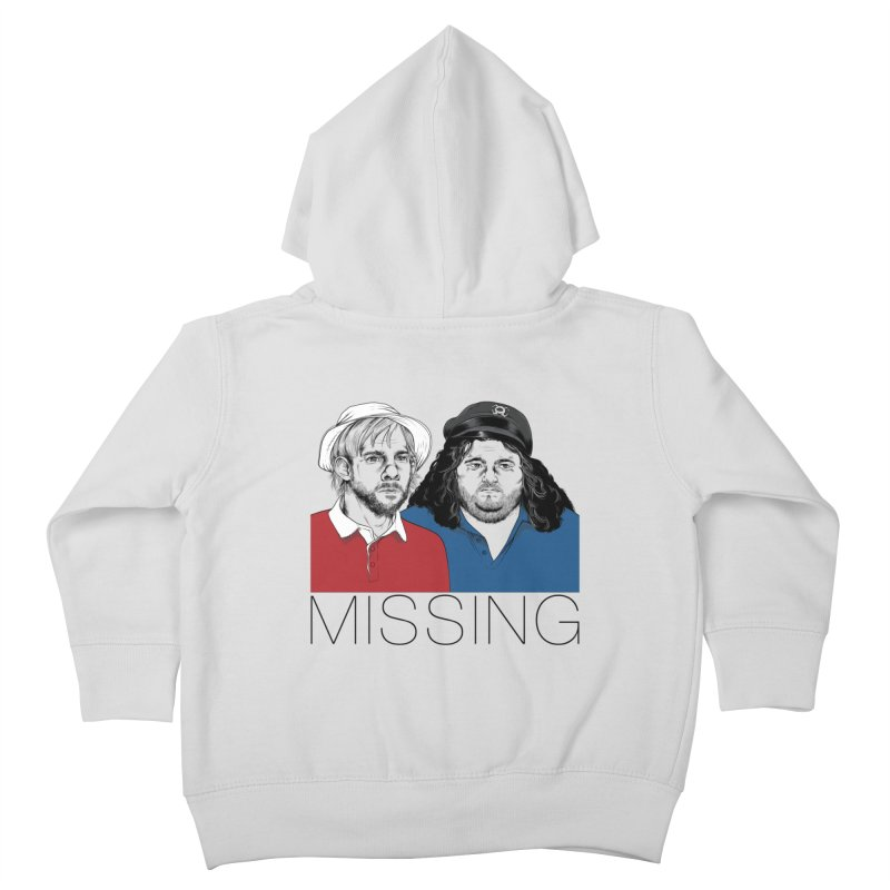 Missing Kids Toddler Zip-Up Hoody by Nikoby's Artist Shop