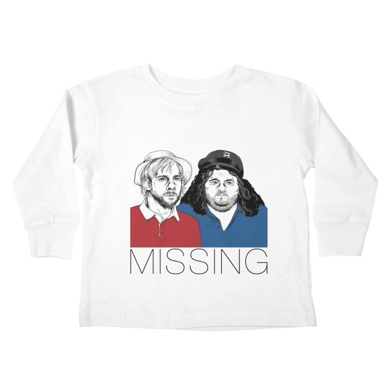 Missing Kids Toddler Longsleeve T-Shirt by Nikoby's Artist Shop
