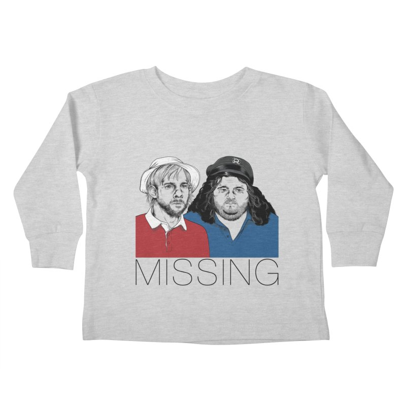 Missing Kids Toddler Longsleeve T-Shirt by Nikoby's Artist Shop