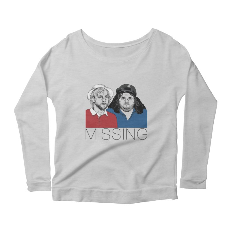 Missing Women's Longsleeve Scoopneck  by Nikoby's Artist Shop