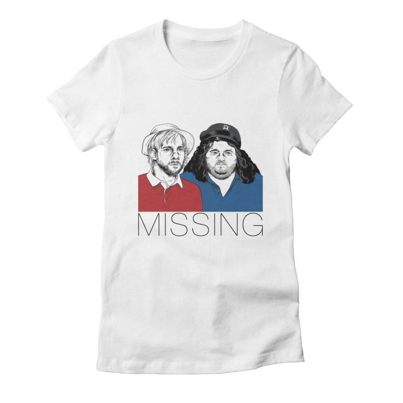 Missing Women's Fitted T-Shirt by Nikoby's Artist Shop
