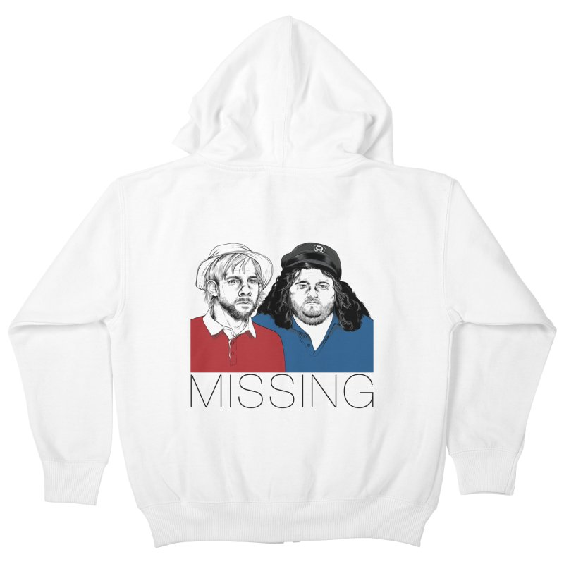 Missing Kids Zip-Up Hoody by Nikoby's Artist Shop
