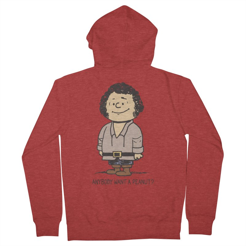 Anybody Want a Peanut? Men's Zip-Up Hoody by Nikoby's Artist Shop