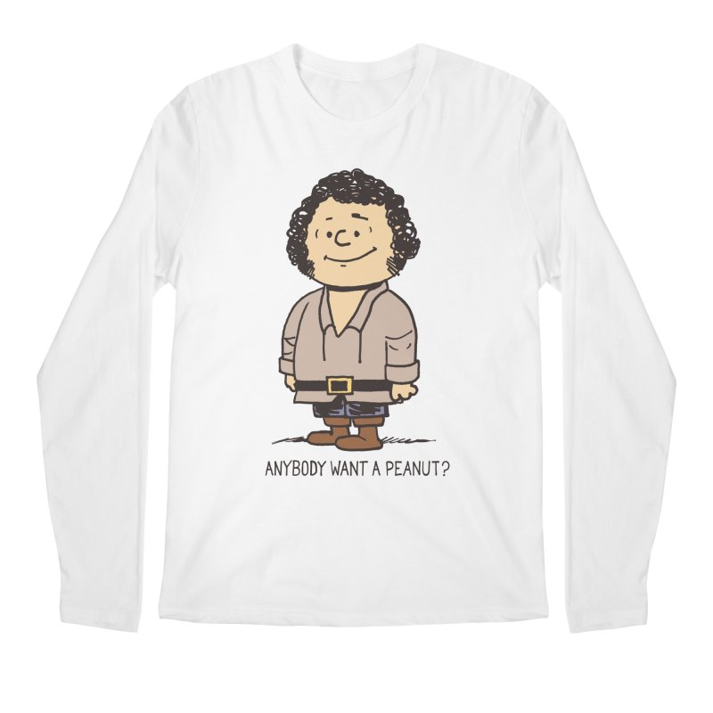 Anybody Want a Peanut? Men's Longsleeve T-Shirt by Nikoby's Artist Shop
