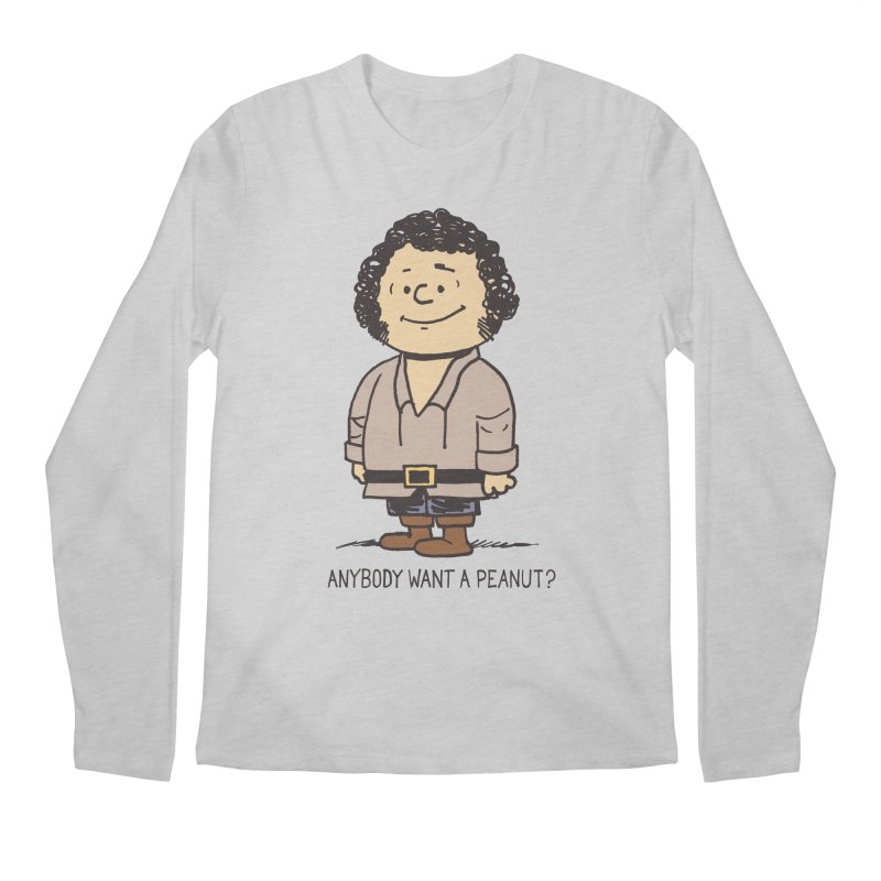 Anybody Want a Peanut? Men's Longsleeve T-Shirt by Nikoby's Artist Shop