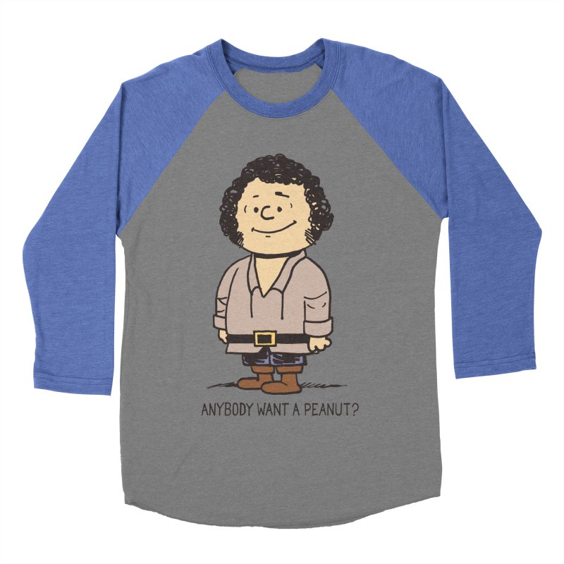 Anybody Want a Peanut? Women's Baseball Triblend T-Shirt by Nikoby's Artist Shop