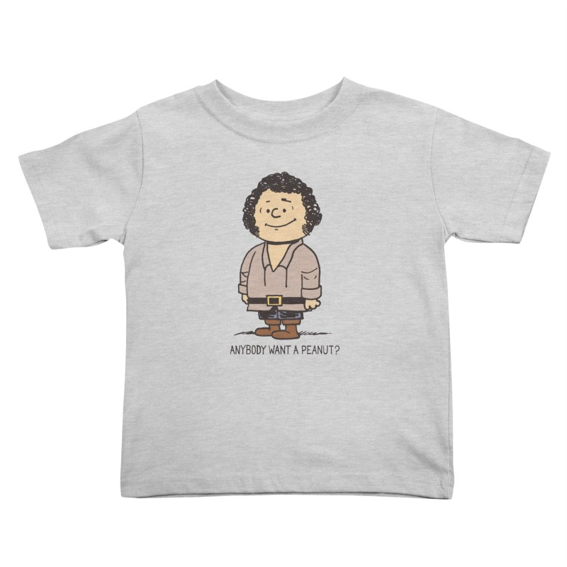 Anybody Want a Peanut? Kids Toddler T-Shirt by Nikoby's Artist Shop
