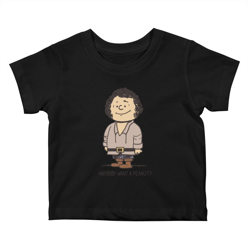 Anybody Want a Peanut? Kids Baby T-Shirt by Nikoby's Artist Shop