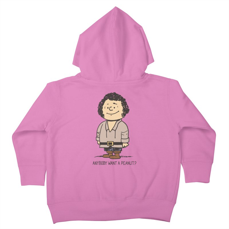 Anybody Want a Peanut? Kids Toddler Zip-Up Hoody by Nikoby's Artist Shop