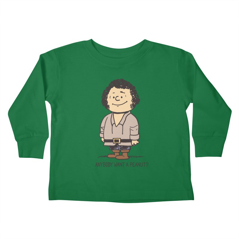 Anybody Want a Peanut? Kids Toddler Longsleeve T-Shirt by Nikoby's Artist Shop