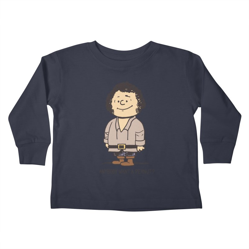 Anybody Want a Peanut? Kids Toddler Longsleeve T-Shirt by Nikoby's Artist Shop