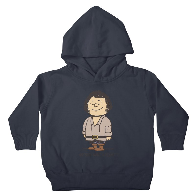 Anybody Want a Peanut? Kids Toddler Pullover Hoody by Nikoby's Artist Shop