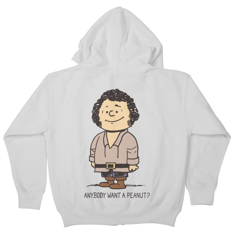 Anybody Want a Peanut? Kids Zip-Up Hoody by Nikoby's Artist Shop