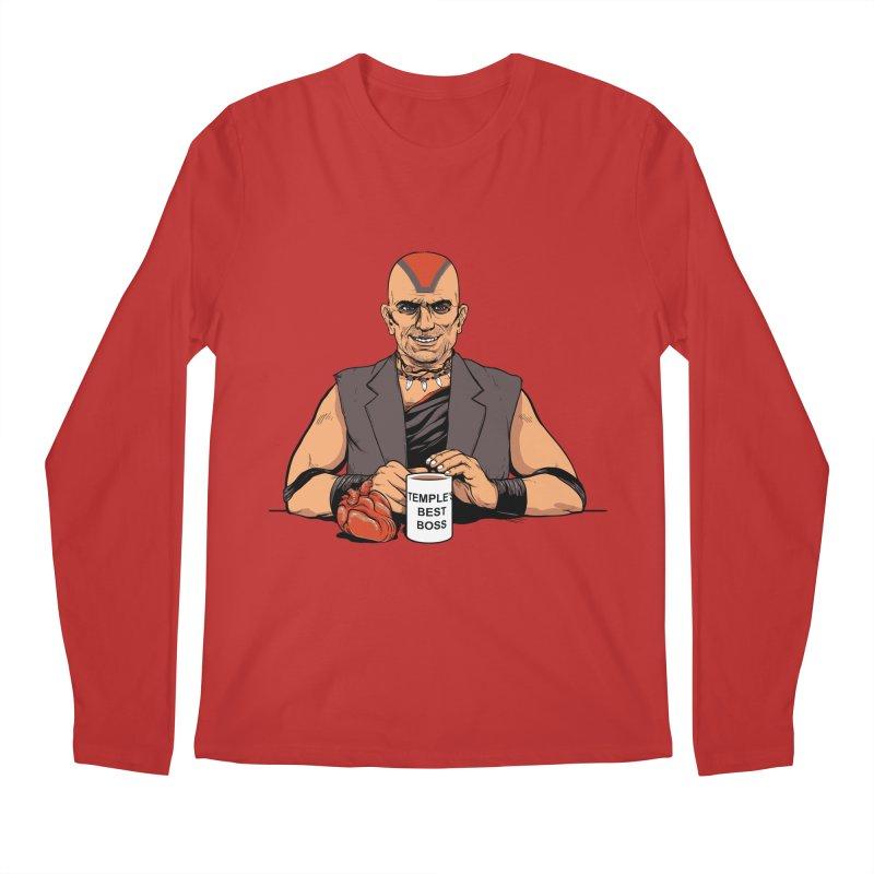 Temple's Best Boss Men's Longsleeve T-Shirt by Nikoby's Artist Shop