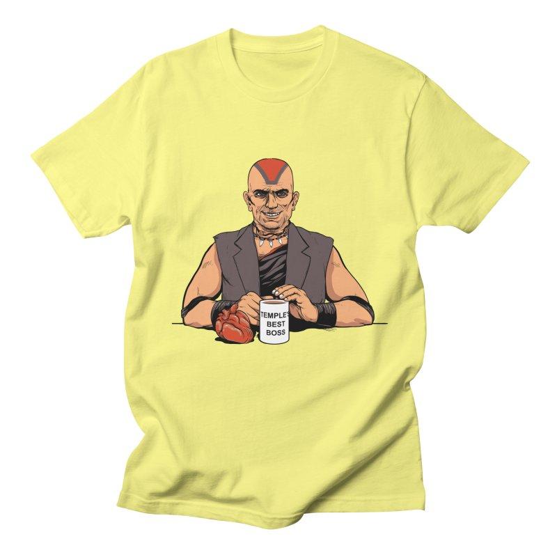 Temple's Best Boss Men's T-shirt by Nikoby's Artist Shop