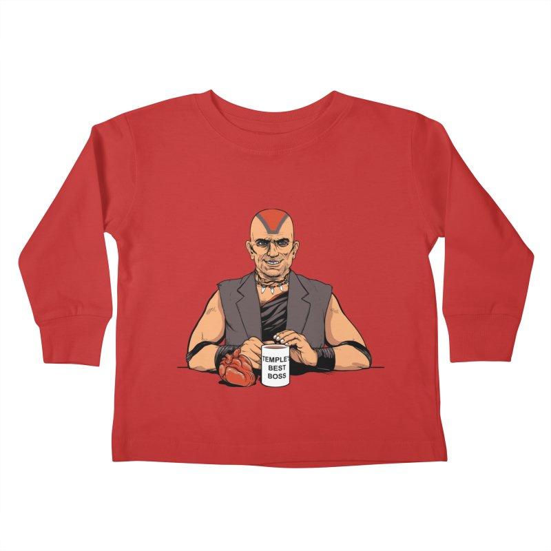 Temple's Best Boss Kids Toddler Longsleeve T-Shirt by Nikoby's Artist Shop