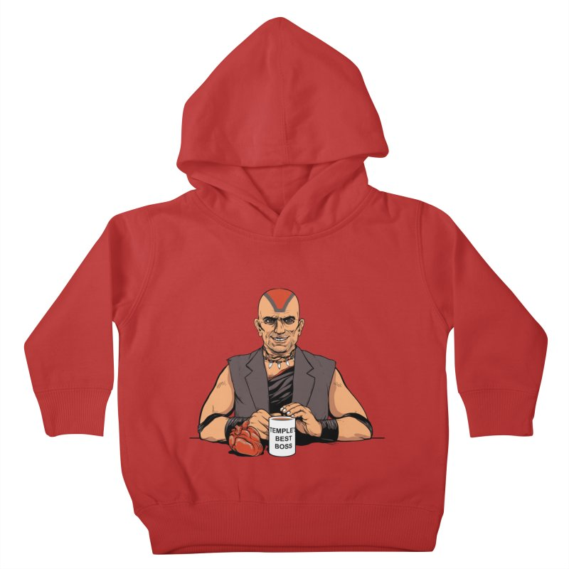 Temple's Best Boss Kids Toddler Pullover Hoody by Nikoby's Artist Shop