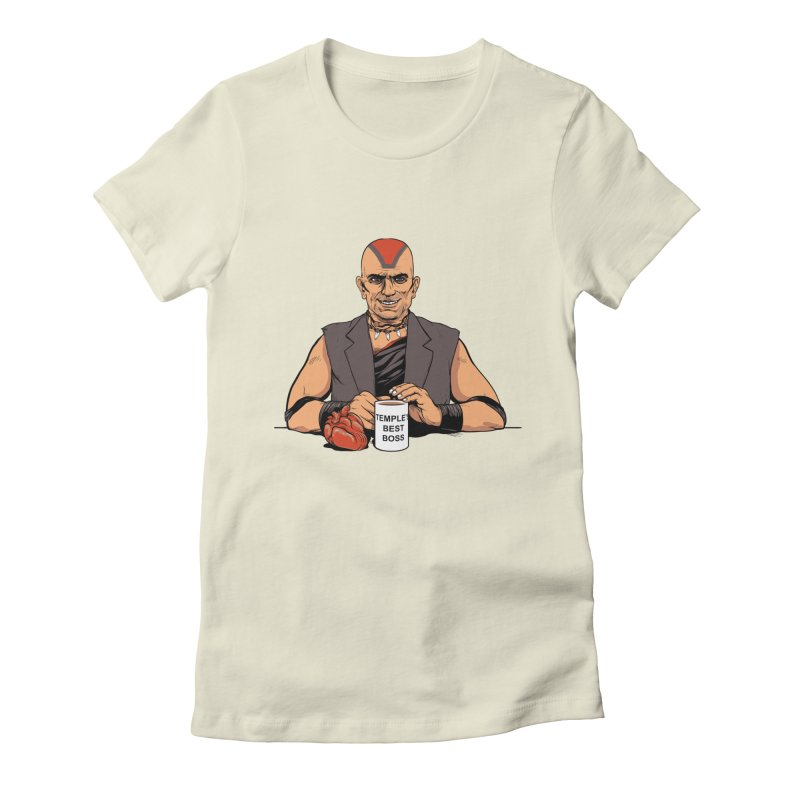 Temple's Best Boss Women's Fitted T-Shirt by Nikoby's Artist Shop