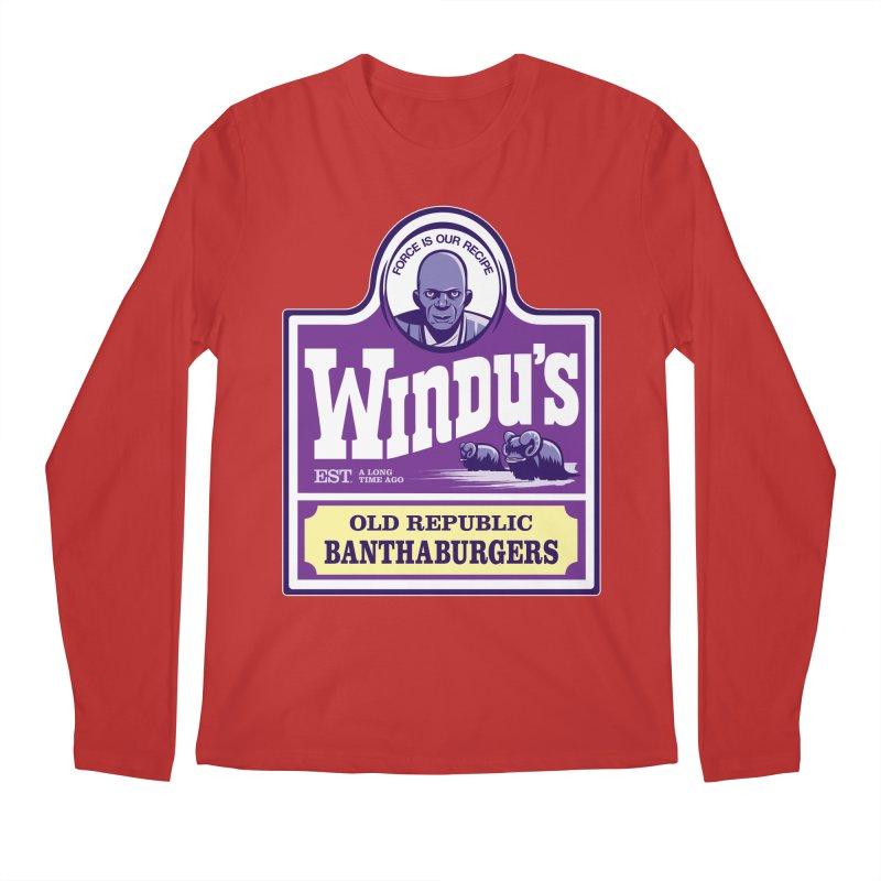 Old Republic Bantha Burgers Men's Longsleeve T-Shirt by Nikoby's Artist Shop