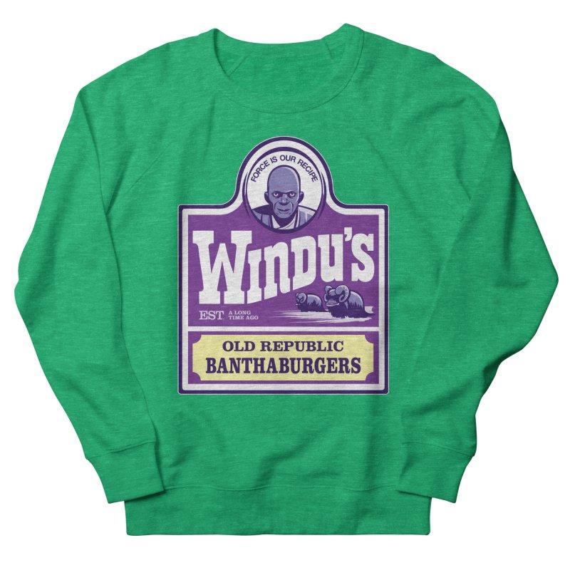 Old Republic Bantha Burgers Women's Sweatshirt by Nikoby's Artist Shop