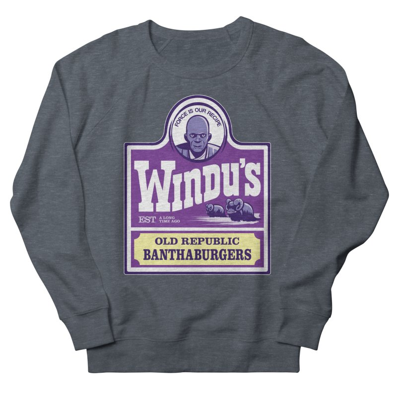 Old Republic Bantha Burgers Men's Sweatshirt by Nikoby's Artist Shop