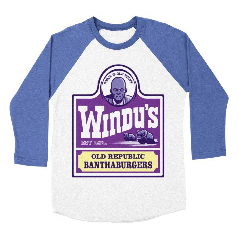 Old Republic Bantha Burgers Women's Baseball Triblend T-Shirt by Nikoby's Artist Shop