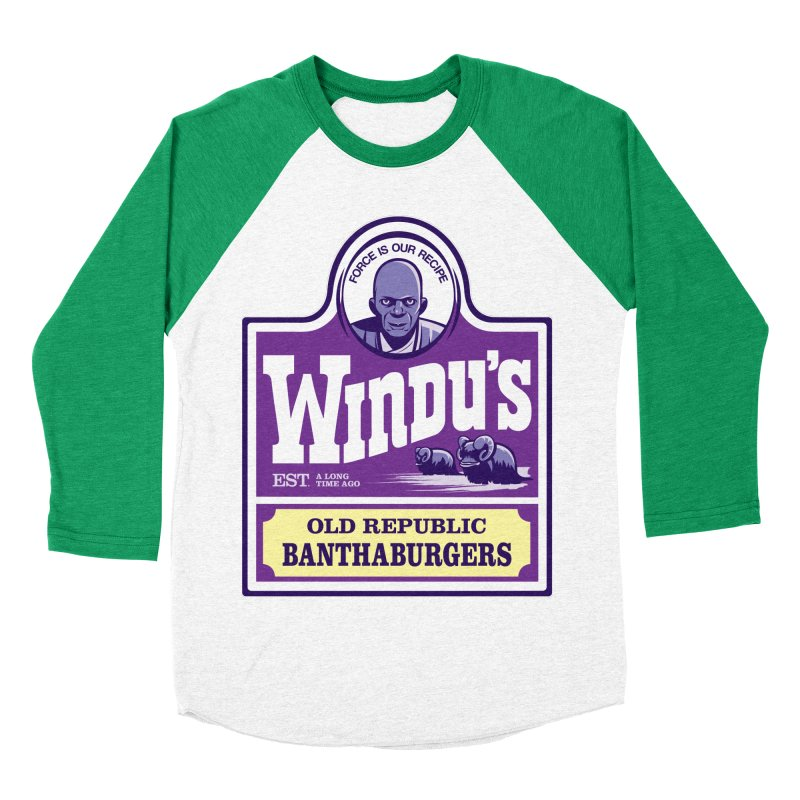 Old Republic Bantha Burgers Men's Baseball Triblend T-Shirt by Nikoby's Artist Shop