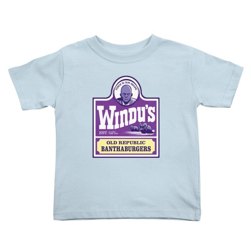 Old Republic Bantha Burgers Kids Toddler T-Shirt by Nikoby's Artist Shop