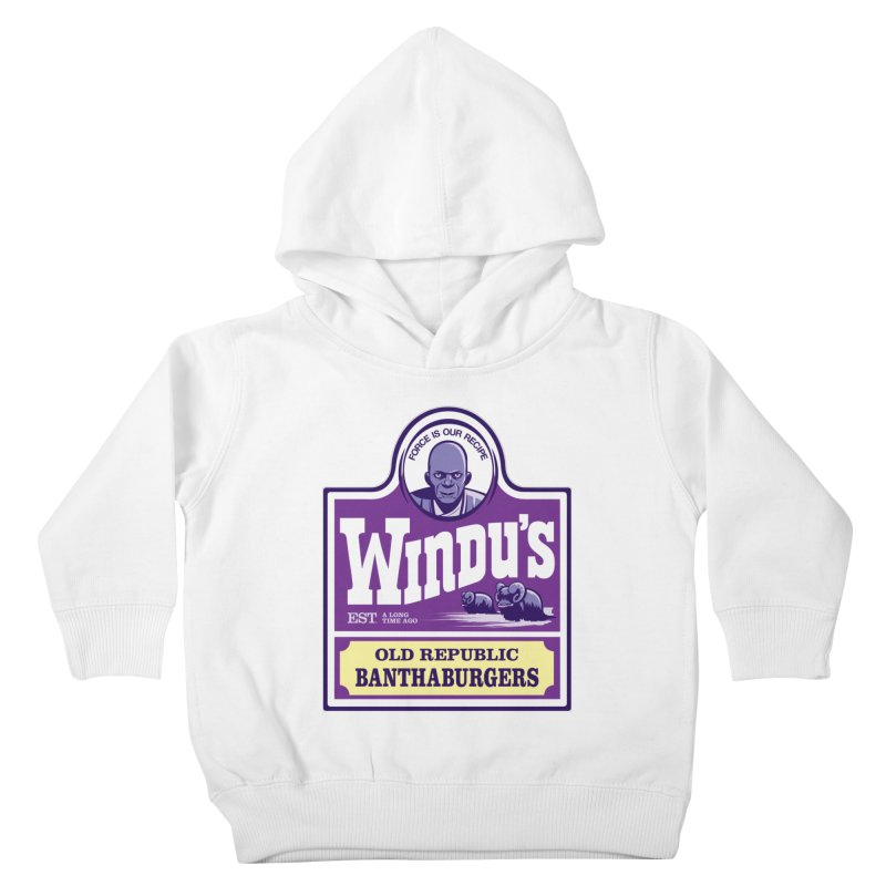 Old Republic Bantha Burgers Kids Toddler Pullover Hoody by Nikoby's Artist Shop