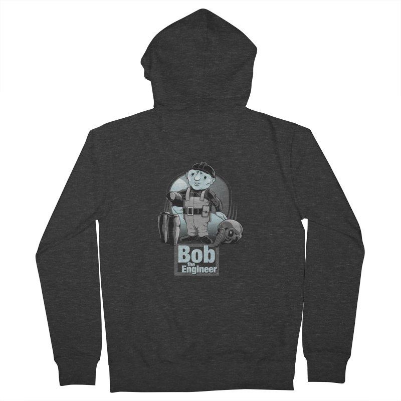 Bob the Engineer Women's Zip-Up Hoody by Nikoby's Artist Shop