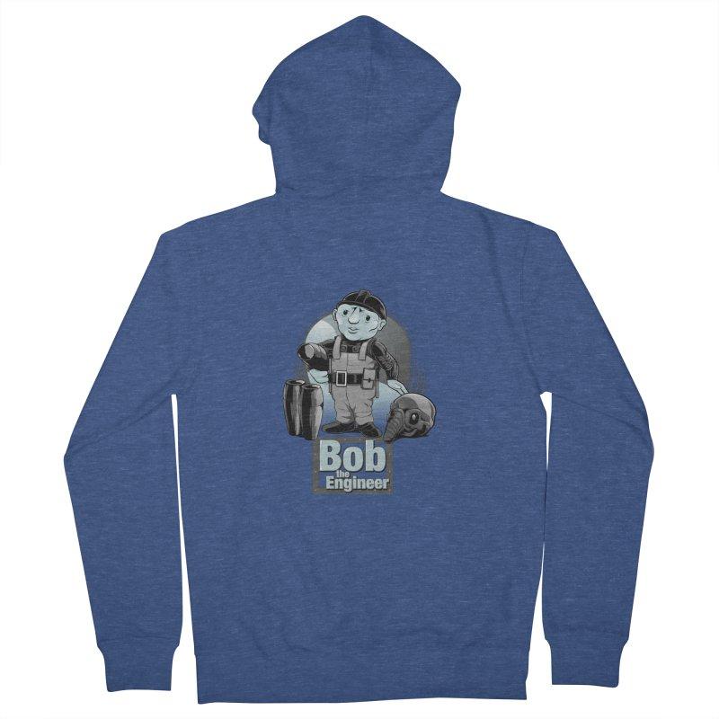 Bob the Engineer Men's Zip-Up Hoody by Nikoby's Artist Shop