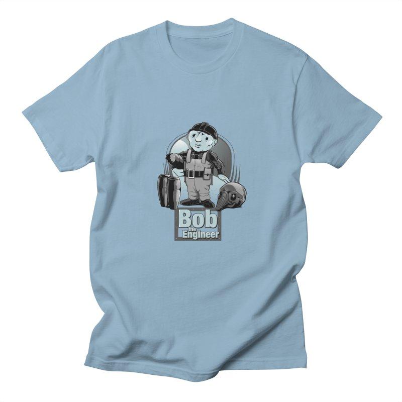 Bob the Engineer Men's T-shirt by Nikoby's Artist Shop