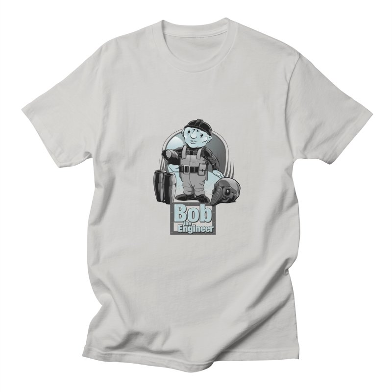 Bob the Engineer Men's T-Shirt by Nikoby's Artist Shop