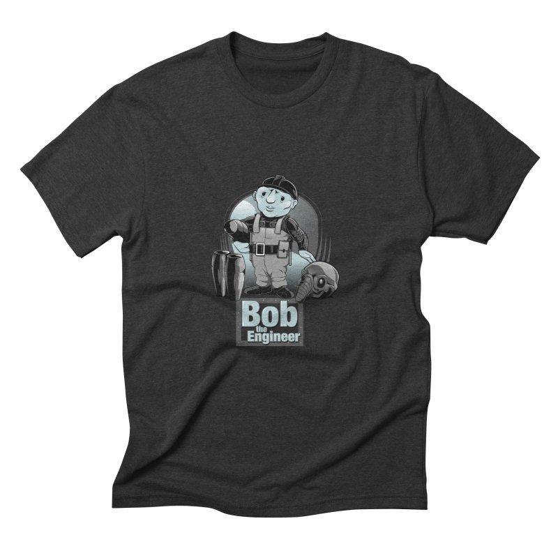 Bob the Engineer Men's Triblend T-Shirt by Nikoby's Artist Shop
