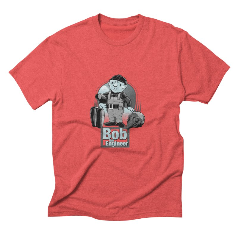 Bob the Engineer Men's Triblend T-Shirt by Nikoby's Artist Shop