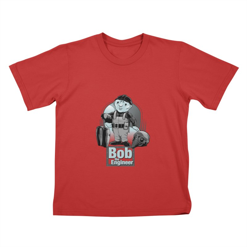 Bob the Engineer Kids T-Shirt by Nikoby's Artist Shop