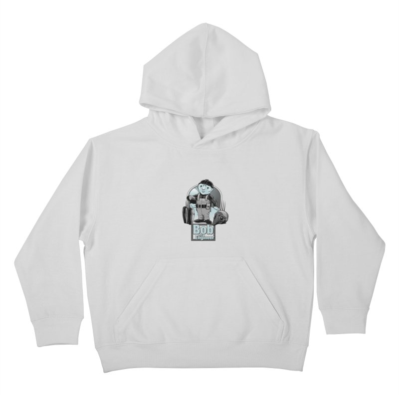 Bob the Engineer Kids Pullover Hoody by Nikoby's Artist Shop