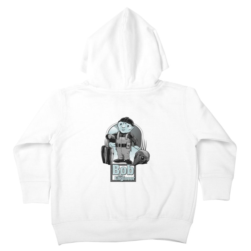 Bob the Engineer Kids Toddler Zip-Up Hoody by Nikoby's Artist Shop