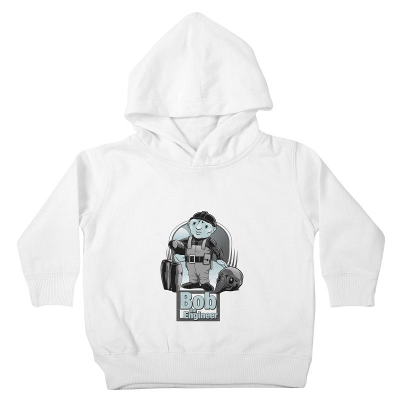 Bob the Engineer Kids Toddler Pullover Hoody by Nikoby's Artist Shop