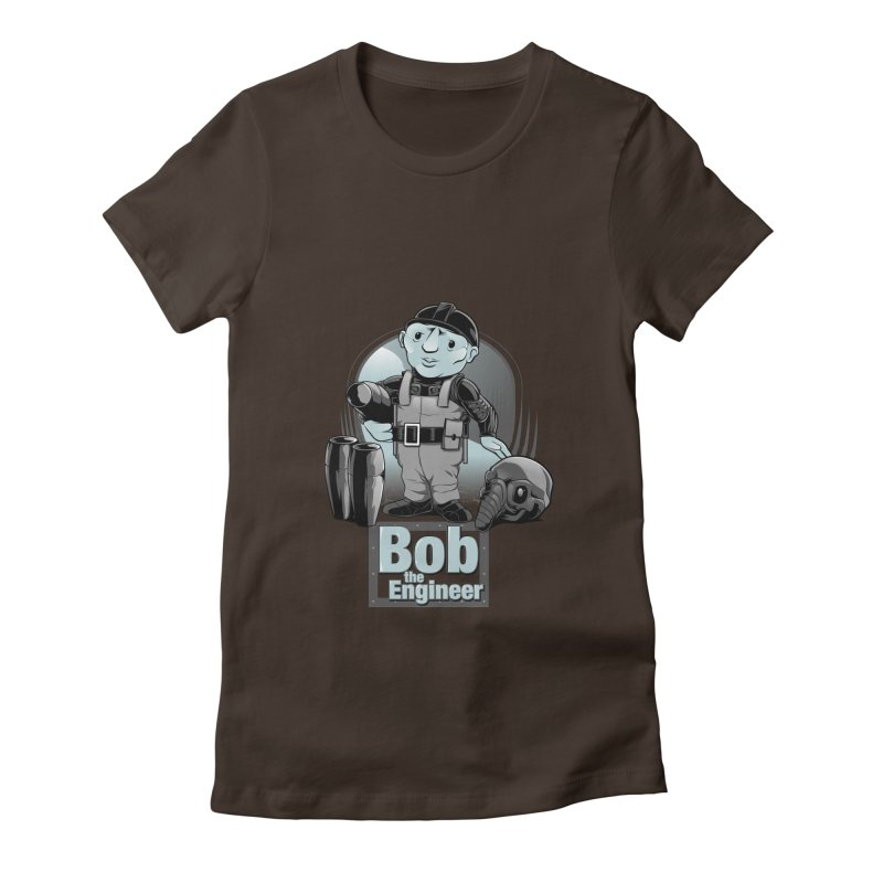 Bob the Engineer Women's Fitted T-Shirt by Nikoby's Artist Shop