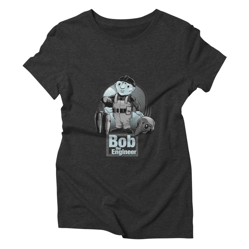 Bob the Engineer Women's Triblend T-shirt by Nikoby's Artist Shop