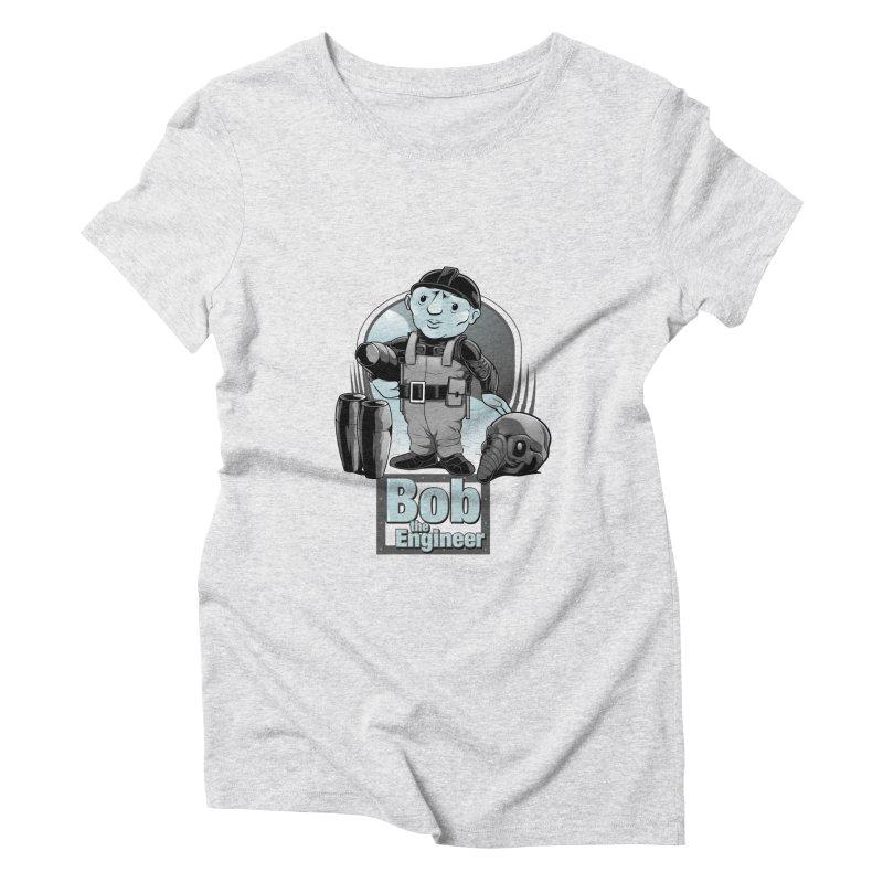 Bob the Engineer Women's Triblend T-Shirt by Nikoby's Artist Shop